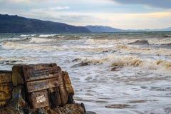 Northern California Coastline Royalty Free Stock Photo