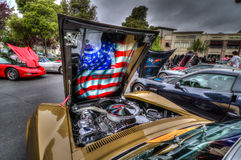 Northern California Corvette Association Royalty Free Stock Photo