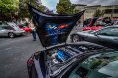 Northern California Corvette Association Stock Image