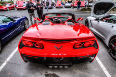 Northern California Corvette Association Stock Images