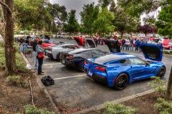 Northern California Corvette Association Stock Photos