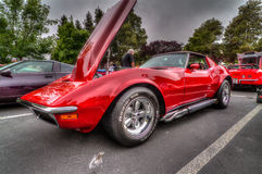 Northern California Corvette Association Royalty Free Stock Images