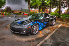 Northern California Corvette Association Royalty Free Stock Photos