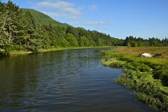 Northern California River Royalty Free Stock Photography
