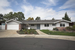 Northern California Subruban Home. Shot of a Northern California Suburban Home Stock Images