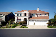 Northern California Subruban Home. Shot of a Northern California Suburban Home royalty free stock photo