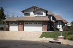 Northern California Subruban Home Royalty Free Stock Photos
