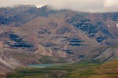 Northern Canadian Rockies alpine valley BC Canada Royalty Free Stock Photos