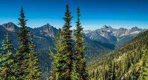 Northern Cascade mountains Stock Photos