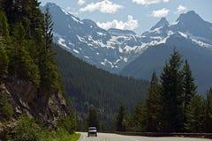 Northern Cascades Mountains Stock Photo