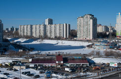 Northern Chertanovo Royalty Free Stock Photography