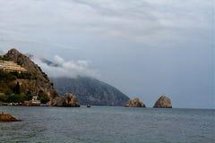 Northern coast of the Black Sea Royalty Free Stock Photo