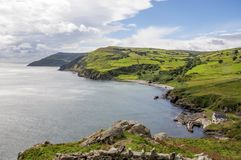 Northern coast of County Antrim, Northern Ireland, UK stock photo