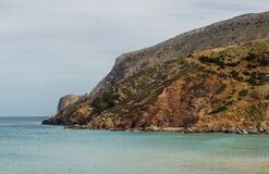 Northern coast Crete Stock Photography