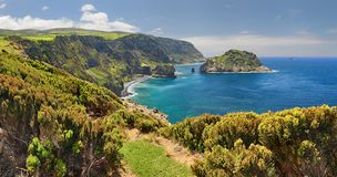 Northern Coast of Flores Azores islands
