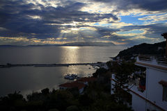 The northern coast of the island of Skopelos Royalty Free Stock Images