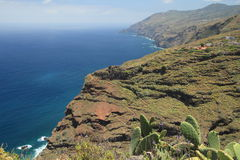 Northern coast of La Palma, Canary Islands Royalty Free Stock Image