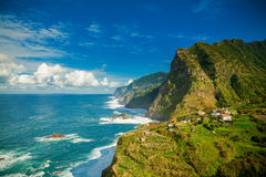 Northern coast of Madeira Royalty Free Stock Photos