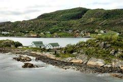 Northern coast of Norway Stock Image