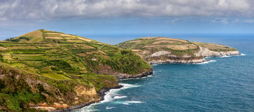Northern coast of Sao Miguel, Azores Islands Stock Photography