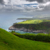 Northern coast of Sao Miguel, Azores Islands Royalty Free Stock Photo