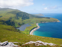 Northern coastline on Achill Island, Ireland Stock Image