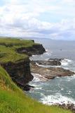 Northern Ireland, County Antrim: Coastline. The Image shows the northernmost coast of (Northern) Ireland (County Antrim), west of Giants Causeway stock image