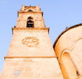 Northern Cyprus Cathedral. Under the moon Royalty Free Stock Photo