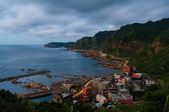 Northern east coast in taiwan Stock Images