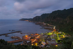 Northern east coast in taiwan Stock Photography