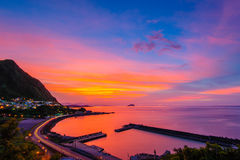 Northern east coast of taiwan Stock Photography