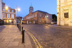 Northern Entrance of Dublin Castle royalty free stock images
