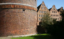 Northern European Brick Architecture Royalty Free Stock Photos