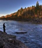Northern fishing Stock Image
