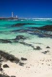 Northern Fuerteventura, Faro de Toston Stock Photo