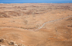 Northern Fuerteventura, view from  Bayuyo Royalty Free Stock Images