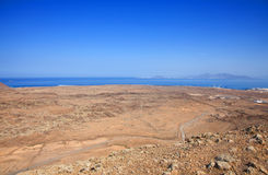 Northern Fuerteventura, view from  Bayuyo Stock Photos