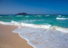 Northern Fuertevenura, Corralejo Flag Beach Stock Image