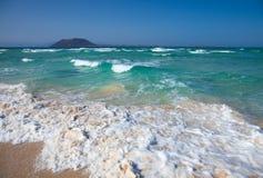 Northern Fuertevenura, Corralejo Flag Beach Stock Images