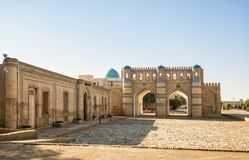 Northern gate of fortress, Khiva Royalty Free Stock Images