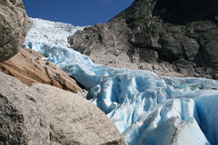 Northern Glacier Royalty Free Stock Image