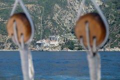Northern Greece mount athos, monasteries Stock Photo