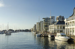 Northern harbour Helsingborg Royalty Free Stock Images