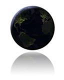 Northern Hemisphere at night Stock Images