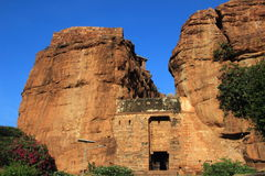 Northern Hill Fort, Badami Stock Image