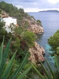 Northern Ibiza. Near Calas Sant Vicent Royalty Free Stock Images