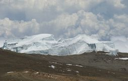 Northern Ice field Kilimanjaro Royalty Free Stock Photography