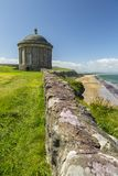 Mussenden Temple North Ireland stock photography