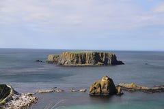 Northern Ireland coast stock photo