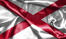 Northern Ireland Flag 3D illustration Royalty Free Stock Photography